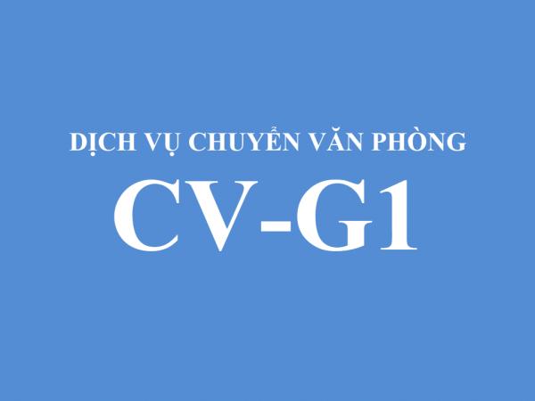 Dịch vụ chuyển văn phòng CV-G1