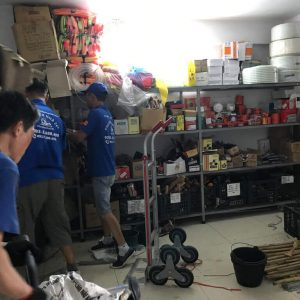 Dịch vụ nhân công khuân vác