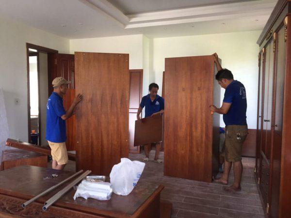 Dịch vụ tháo lắp giường tủ