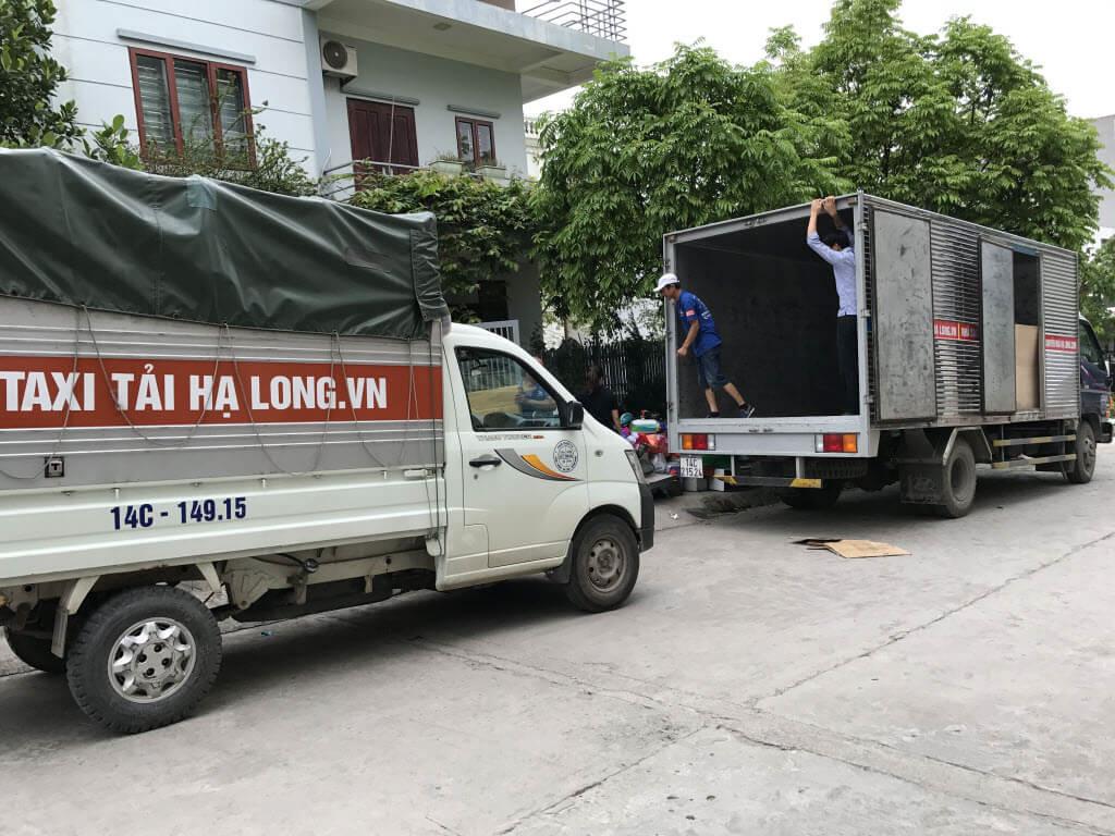 Dịch vụ xe tải chở hàng Hạ Long
