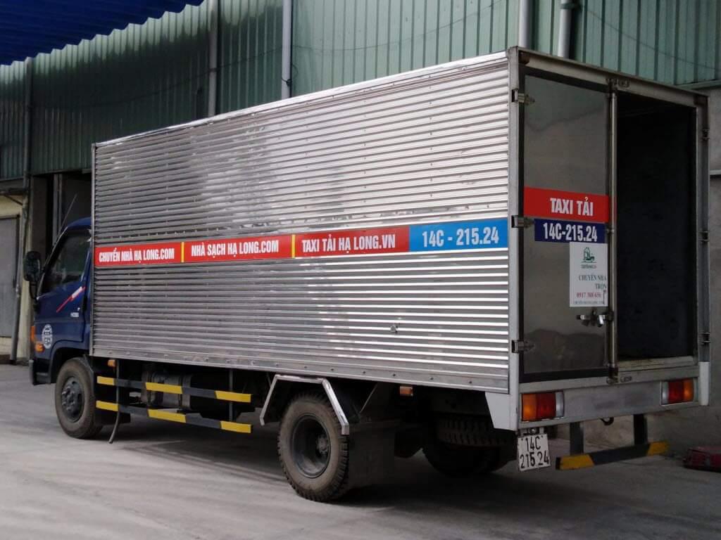 Xe tải chở hàng Hạ Long 5.0 tấn