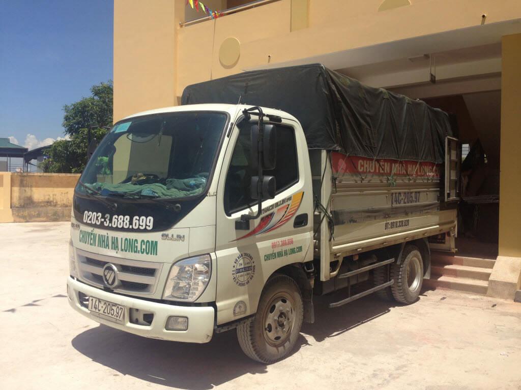 Xe tải chở hàng Hạ Long 2.5 tấn